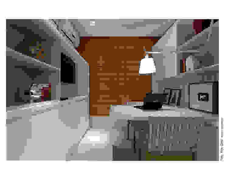 Apartamento em Ondina Salas de estar modernas por Spinola+Carvalho Arquitetura Moderno
