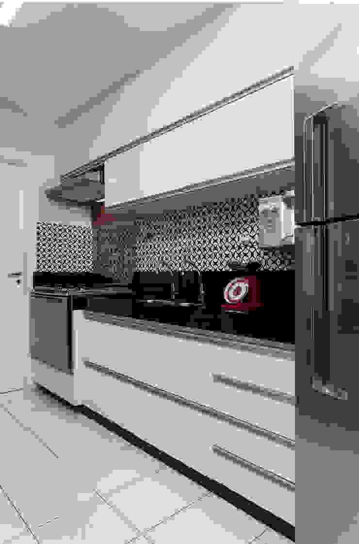 Apartamento Rio Vermelho Cozinhas modernas por Spinola+Carvalho Arquitetura Moderno