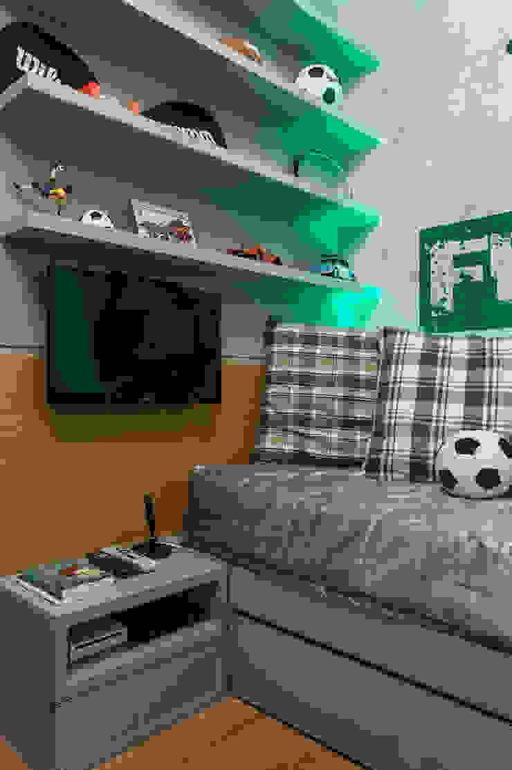Apartamento Rio Vermelho Quarto infantil moderno por Spinola+Carvalho Arquitetura Moderno