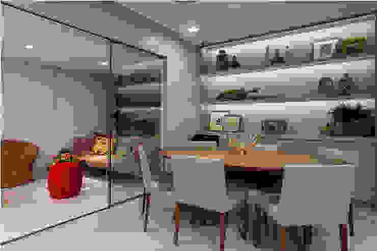 Apartamento Rio Vermelho Salas de jantar modernas por Spinola+Carvalho Arquitetura Moderno