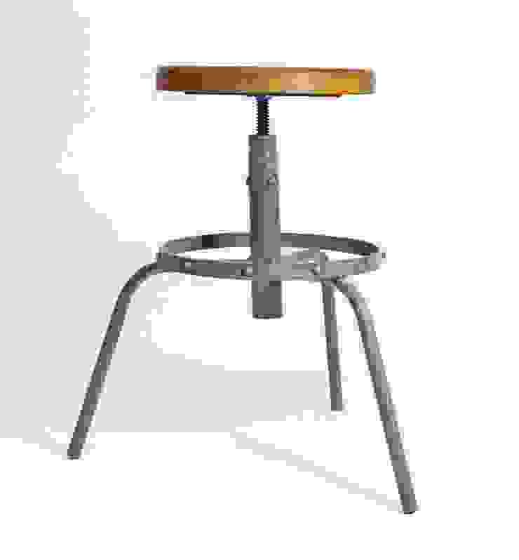 "Hokery industrialne ""RING"" od NordLoft - Industrial Design Industrialny"