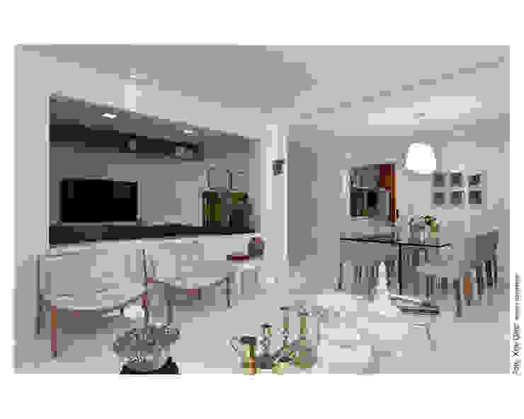 Apartamento em Ondina Salas de jantar modernas por Spinola+Carvalho Arquitetura Moderno
