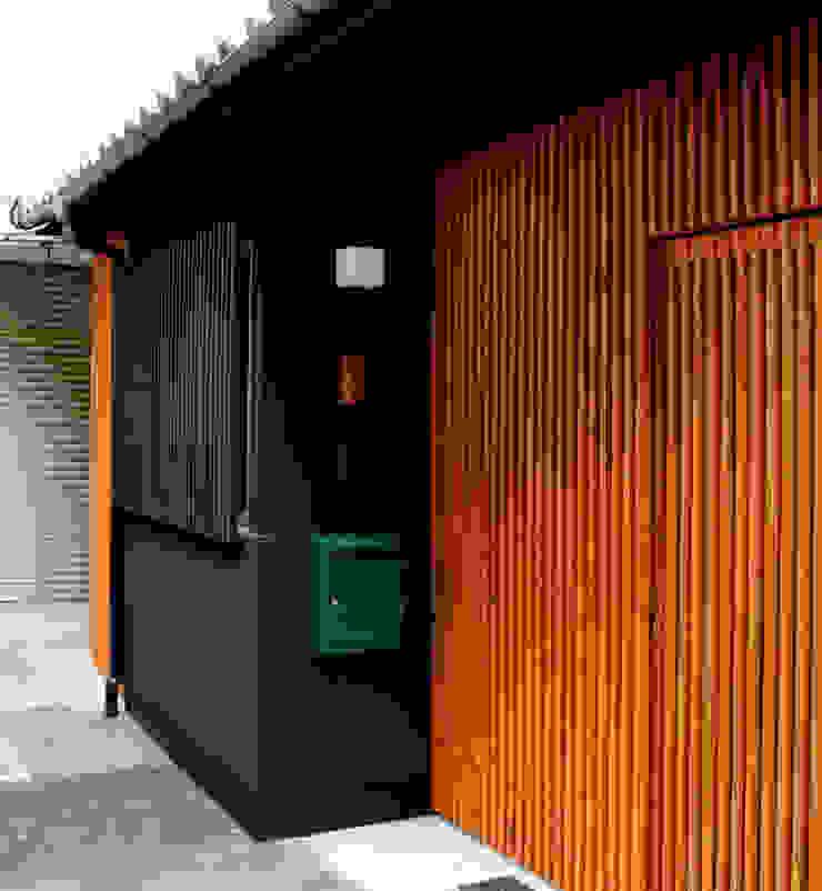 外観 クラシカルな 家 の あお建築設計 クラシック 木 木目調