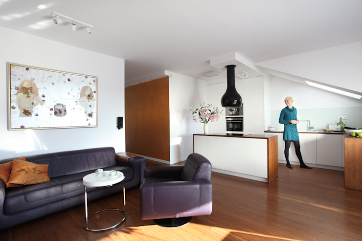 Tarna Design Studio 现代客厅設計點子、靈感 & 圖片