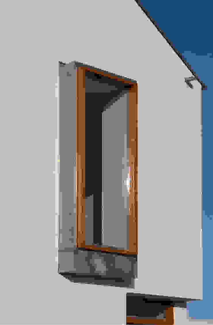 erker voorzijde Moderne huizen van ddp-architectuur Modern