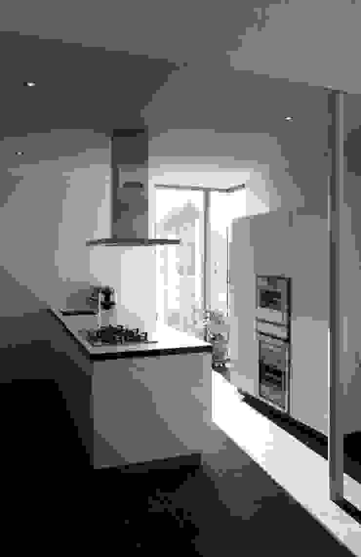 kookeiland Moderne keukens van ddp-architectuur Modern
