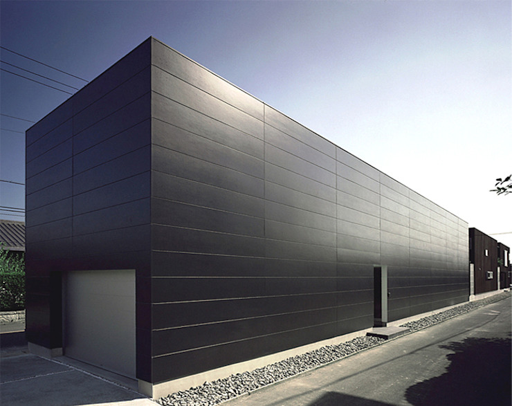 Modern houses by 近藤晃弘建築都市設計事務所 Modern