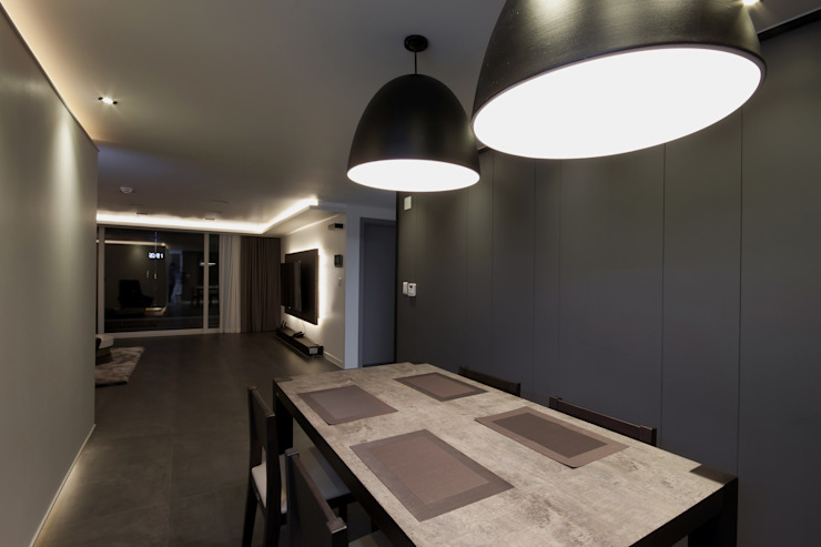 Столовые комнаты в . Автор – 디자인투플라이, Модерн