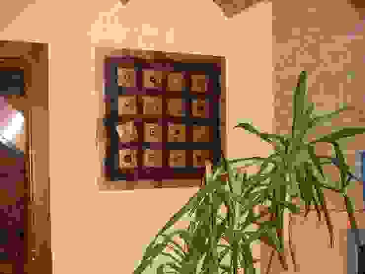 I FRUTTI DEL FUOCO - Art Studio ArtworkPictures & paintings Wood Black