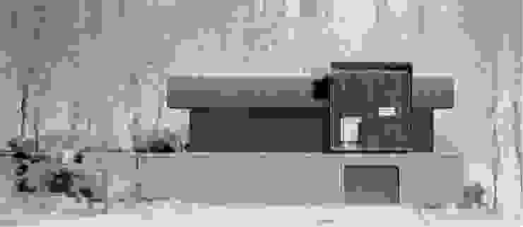 KHOUSE外観3: 3*D空間創考舎一級建築士事務所が手掛けたスカンジナビアです。,北欧
