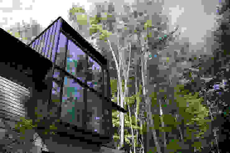 K-HOUSE外観1 北欧風 家 の 3*D空間創考舎一級建築士事務所 北欧