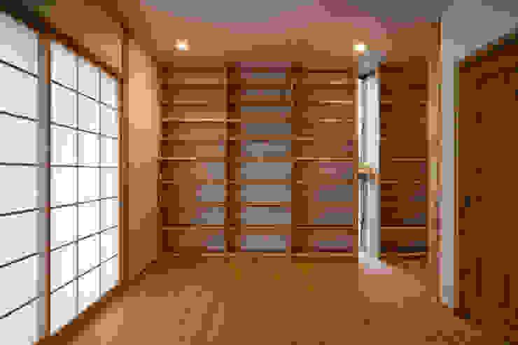 鳳南の家 オリジナルデザインの 書斎 の 木の家プロデュース 明月社 オリジナル