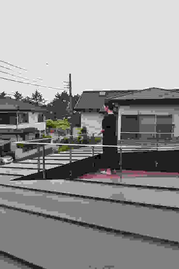 バルコニー モダンデザインの テラス の FURUKAWA DESIGN OFFICE モダン