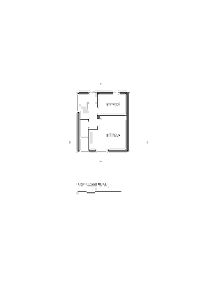 トールハウス・フルハウス: アトリエハコ建築設計事務所/atelier HAKO architectsが手掛けた現代のです。,モダン