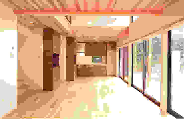 ダイニング・キッチン モダンデザインの ダイニング の 有限会社 起廣プラン 一級建築士事務所 モダン