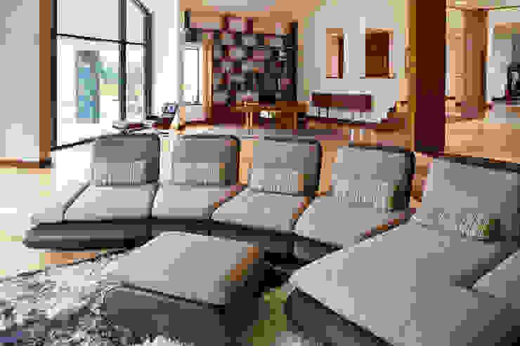 Salas de estar modernas por tomasz czajkowski pracownia Moderno