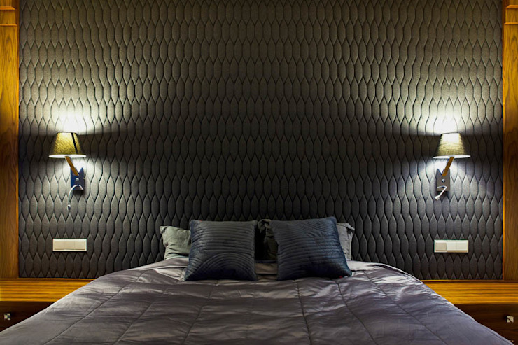 Dormitorios modernos de tomasz czajkowski pracownia Moderno