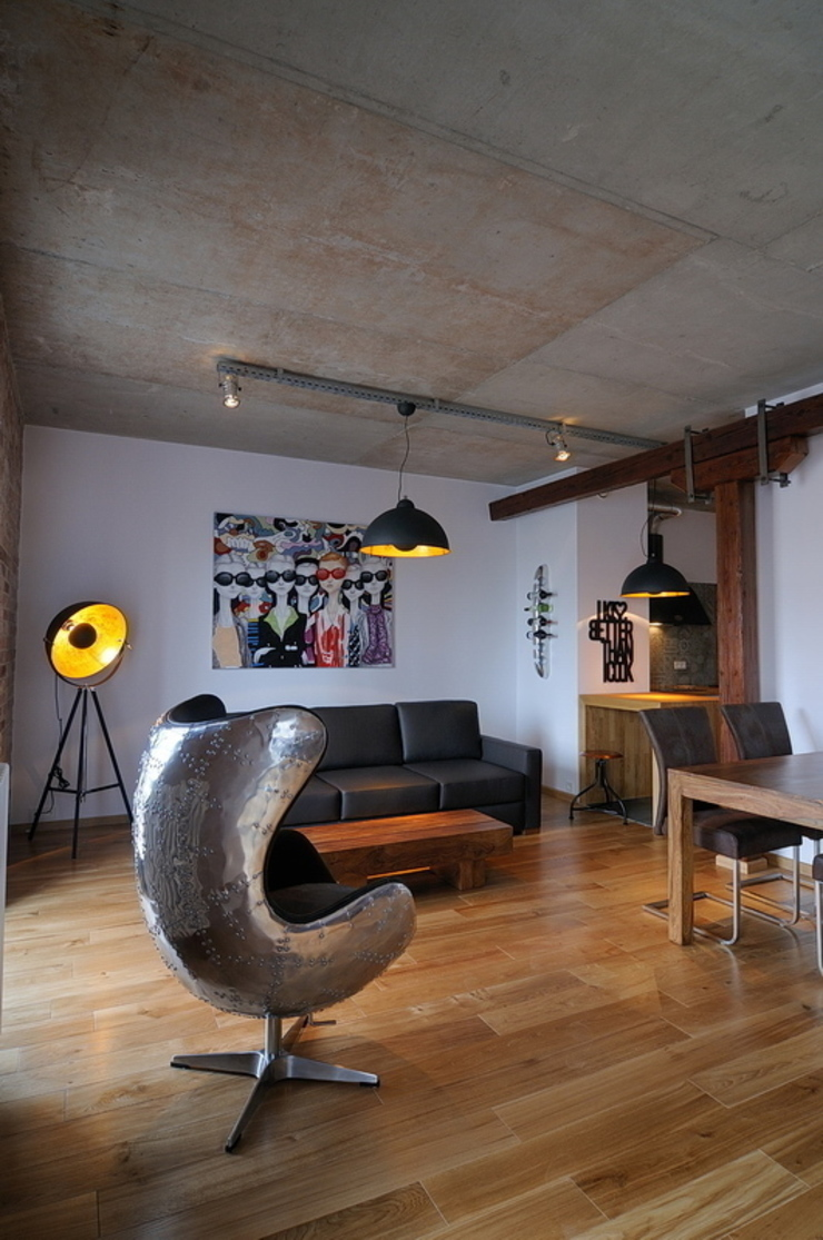 ARTEMA PRACOWANIA ARCHITEKTURY WNĘTRZ 客廳