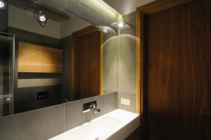 ARTEMA PRACOWANIA ARCHITEKTURY WNĘTRZ 浴室