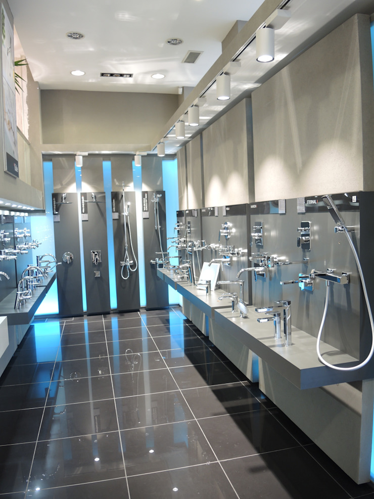 Lojas & Imóveis comerciais modernos por Engin Yapı Moderno