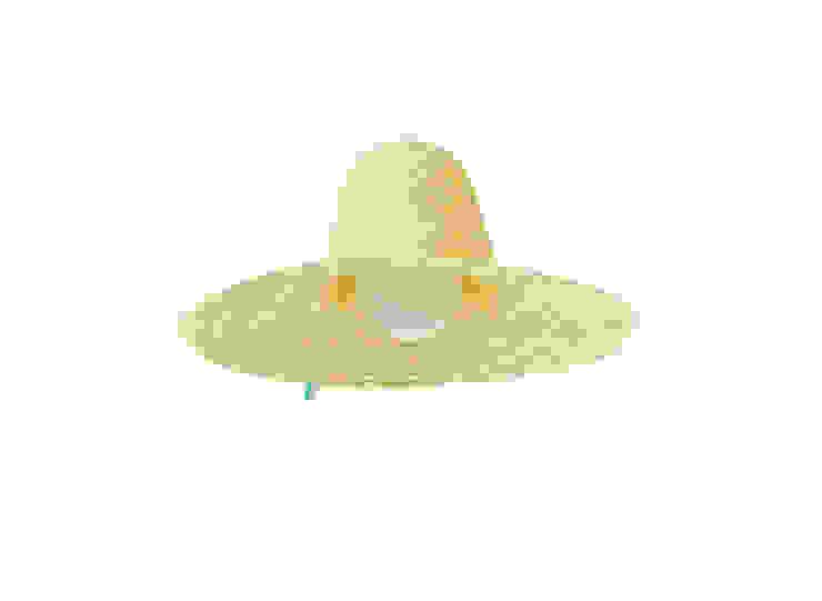 SARA pendant lamp (standard option) por DAM Campestre Sisal/palha Azul
