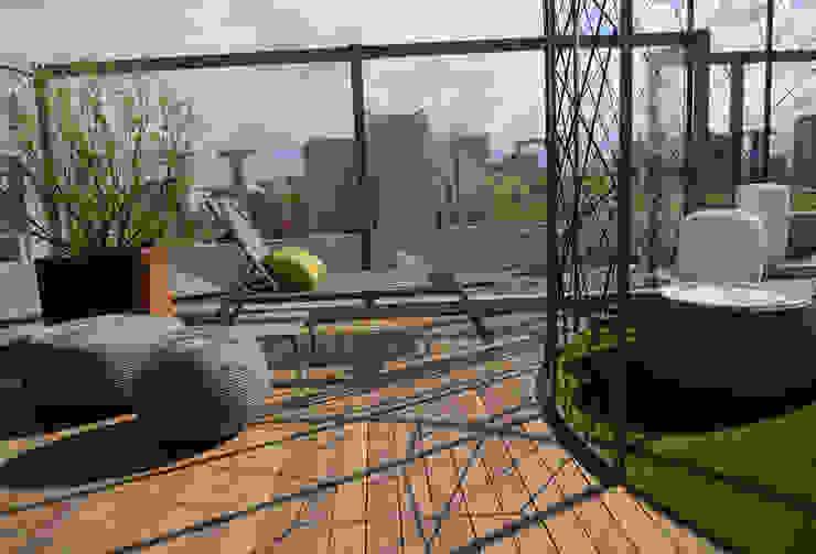 Balcones y terrazas de estilo moderno de Déco Moderno