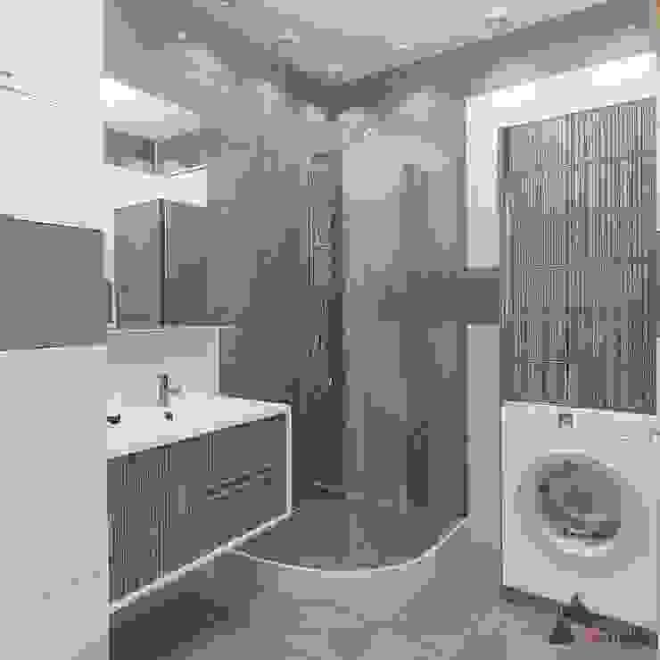 Minimalist style bathroom by 3angleproject Minimalist