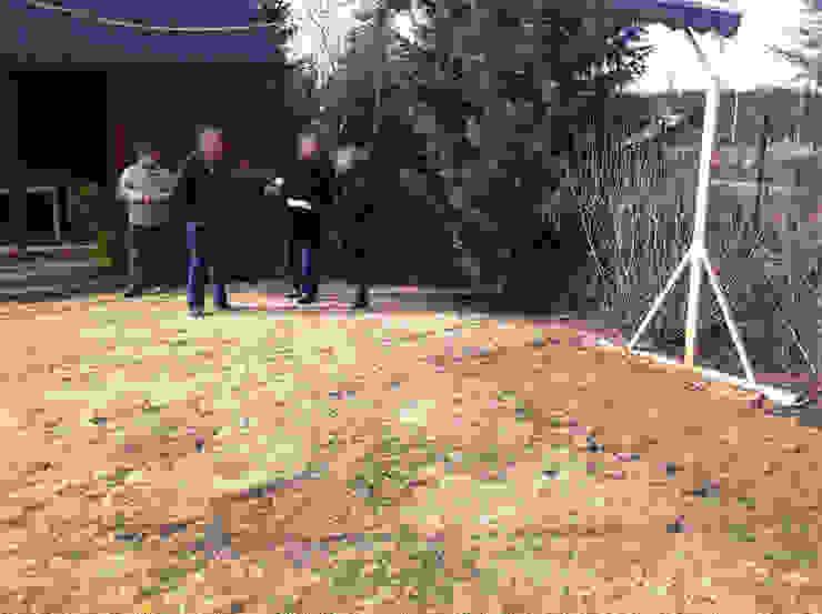 Taras drewniany. Realizacja pod Poznaniem. od PHU Bortnowski Nowoczesny
