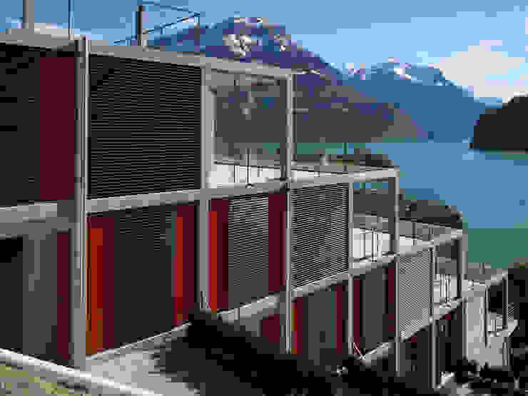 Eggenspieler Röösli Architekten AG 現代房屋設計點子、靈感 & 圖片