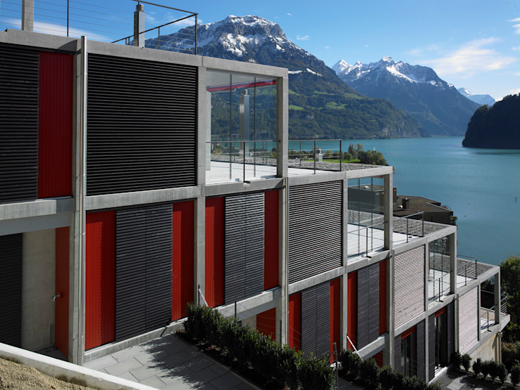 Eggenspieler Röösli Architekten AG Casas estilo moderno: ideas, arquitectura e imágenes