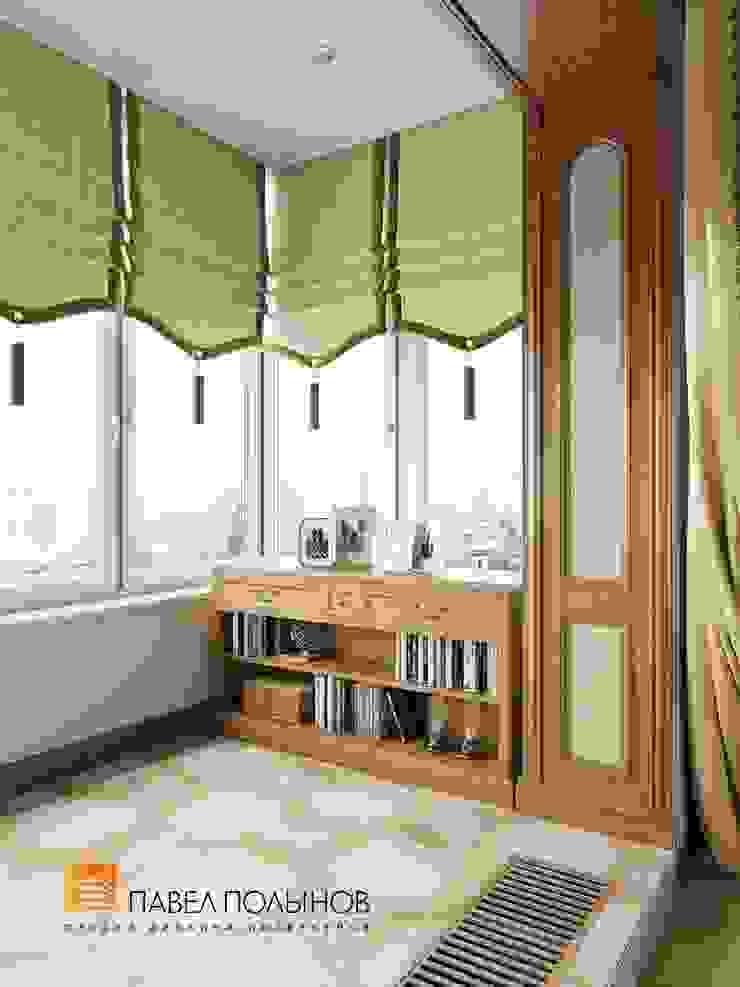 Лоджия Балкон и терраса в классическом стиле от Студия Павла Полынова Классический