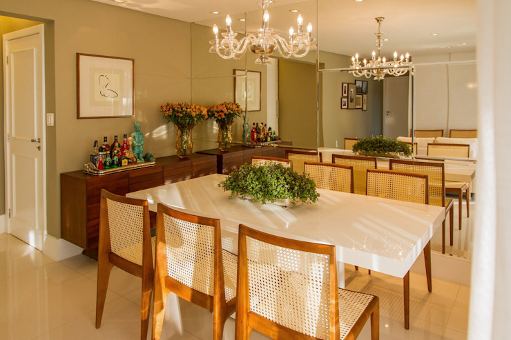 Modern dining room by Jamile Lima Arquitetura Modern