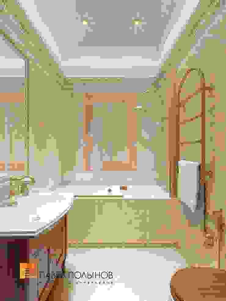 Классический стиль в интерьере квартиры в ЖК «Duderhof Club», 193 кв.м. Ванная в классическом стиле от Студия Павла Полынова Классический