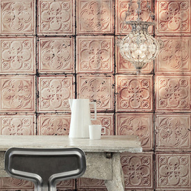 Brooklyn Tins wallpaper by NLXL - Tin 06 Dust Paredes y suelosPapeles pintados