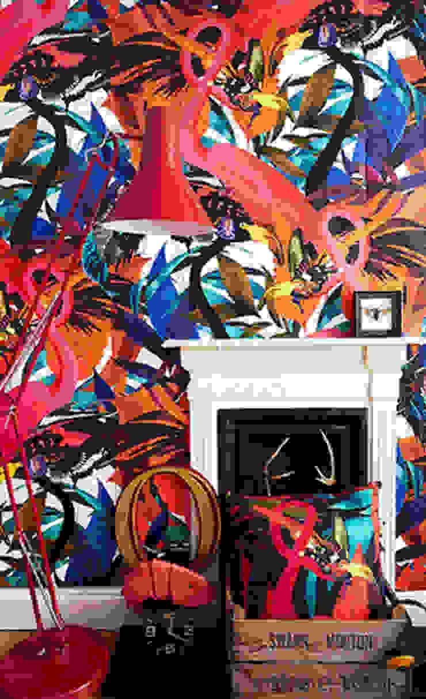 Kristjana S Williams, Andy Palmer Garden Wall Mural Dust Paredes y suelosPapeles pintados