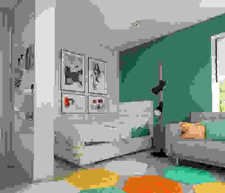 Акварельные карандаши Детская комната в стиле модерн от Sweet Hoome Interiors Модерн