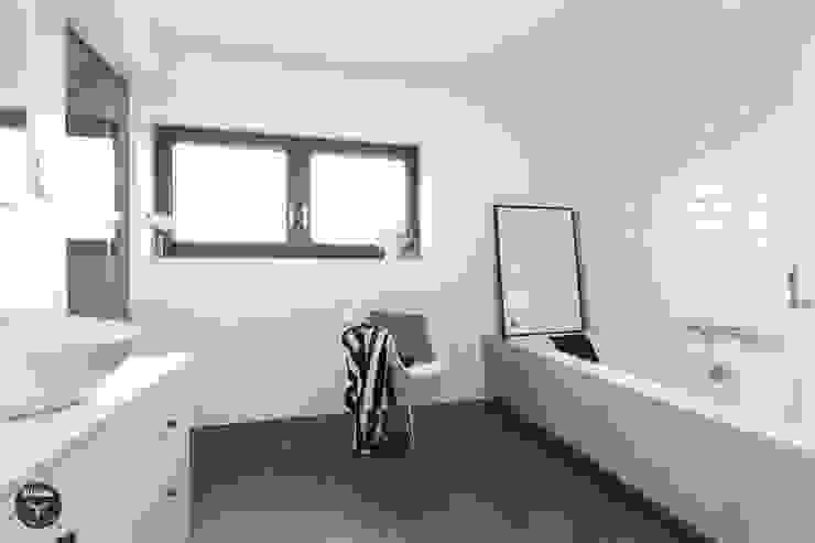 DOM - BOCHNIA Skandynawska łazienka od stabrawa.pl Skandynawski
