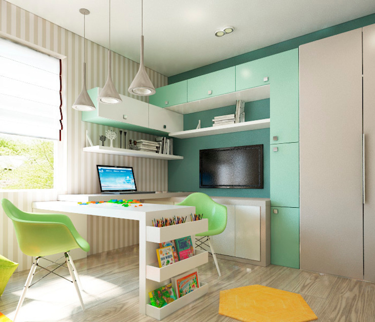 Modern Kid's Room by Sweet Hoome Interiors Modern