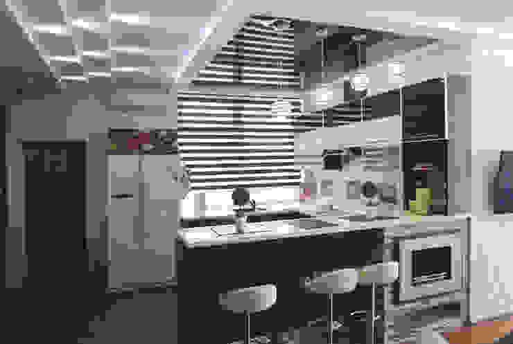 Nowoczesna kuchnia od Sweet Hoome Interiors Nowoczesny