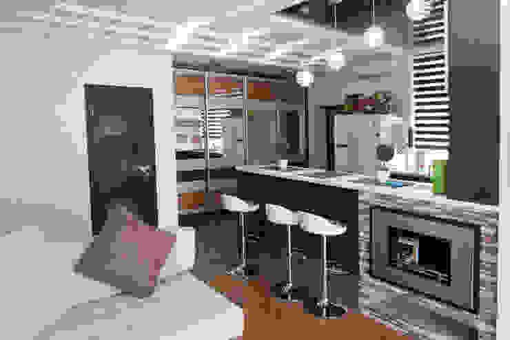 Nowoczesny salon od Sweet Hoome Interiors Nowoczesny