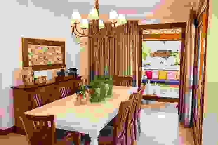Sala de Jantar Jamile Lima Arquitetura Salas de jantar tropicais