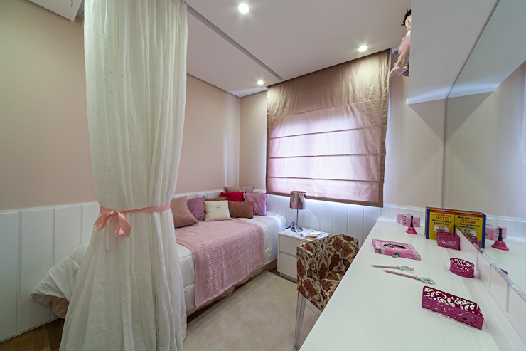 Dormitorios infantiles de estilo  por GUSTAVO GARCIA ARQUITETURA E DESIGN