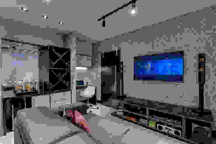 Living e Home Theather Salas de estar modernas por Guido Iluminação e Design Moderno