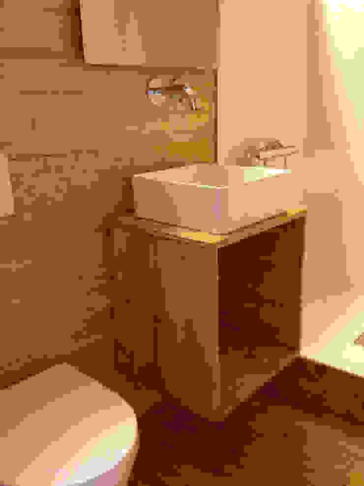 Casa Rösch André Rösch Architekt Scandinavian style bathroom