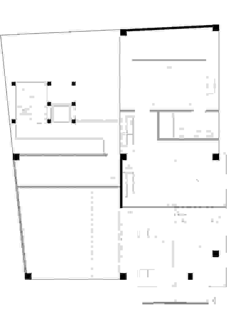 Planta 5:  de estilo industrial por Proyecto Cafeina, Industrial
