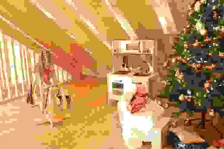 Casa Rösch André Rösch Architekt Salas de entretenimiento de estilo rural
