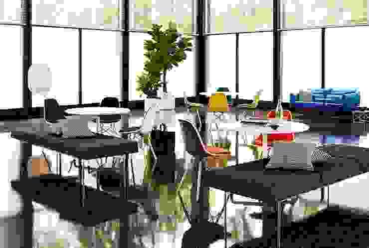 Herman Miller Collection Salones modernos de Herman Miller México Moderno
