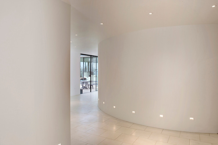 Seaglass House Modern corridor, hallway & stairs by The Manser Practice Architects + Designers Modern