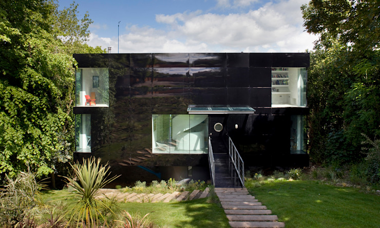 Welch House Casas modernas: Ideas, diseños y decoración de The Manser Practice Architects + Designers Moderno