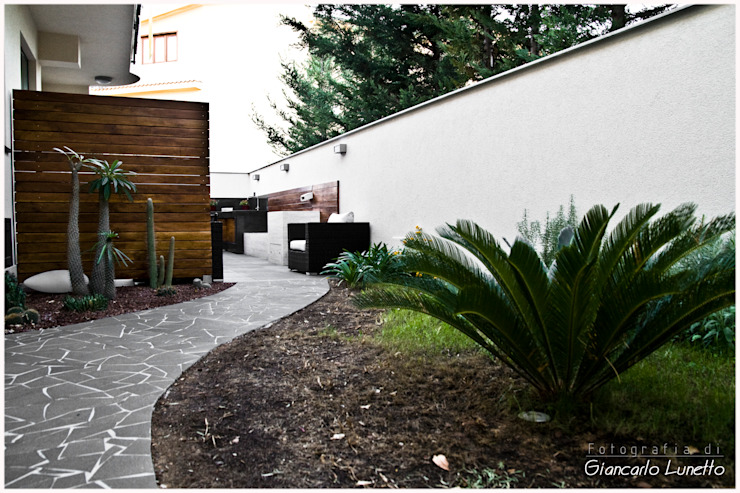 Casas estilo moderno: ideas, arquitectura e imágenes de Ignazio Buscio Architetto Moderno